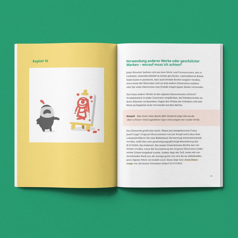 Urheberrecht für Illustratoren - Innseite